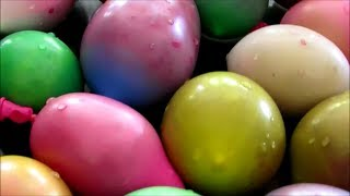 How to Fill Water Balloons with Paint (and how not to)