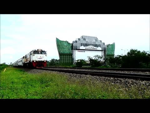 Kereta Api Berkecepatan Tinggi Maharani Argo Bromo Anggrek Sembrani Kertajaya Harina part 1