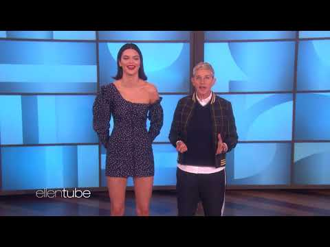 Kendall Jenner Plays High Fashion Heads Up