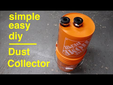 How to Make ● Simple Cyclone Dust Collector