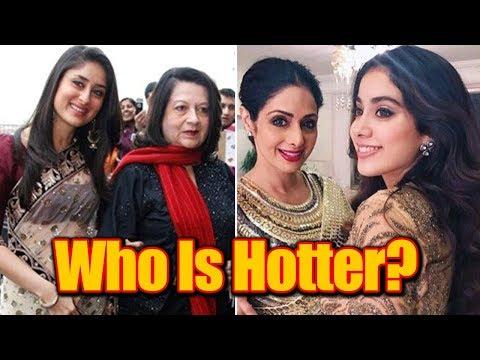 Xxx Mp4 Who Looks Hotter Mother Or Daughter Part 2 Sridevi Janhvi Kapoor Babita Kareena Kapoor 3gp Sex