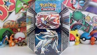 Opening A Pokemon Solgaleo GX Tin