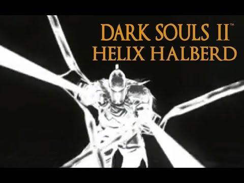 Dark Souls 2 Helix Halberd Tutorial (dual wielding w/ power stance)
