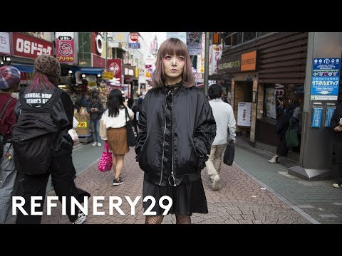 The Dark Side Of Harajuku Style You Haven't Seen Yet   Style Out There   Refinery29