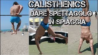 POWERLIFTER prova MUSCLE UP360 - Farsi male in spiaggia