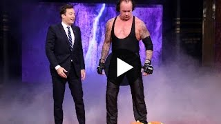 Undertaker on JIMMY FALLON - WWE NEWS