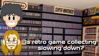 Retro Video Game Collecting Slowing Down? #CUPodcast