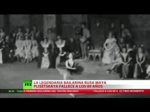 FALLECE A LOS 89 AÑOS LA MÍTICA BAILARINA RUSA MAYA PLISETSKAYA