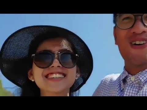 VLOG #1 HONEYMOON BALI SEA WALKER 2015
