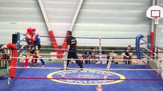 Demi finale chpt France  Muay Thai classe B (D) 2014