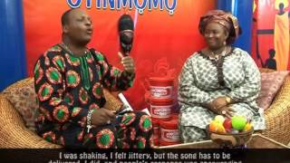 Oyinmomo - Interview with SIR SHINA PETERS