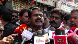 If Veerapan Had Been Alive No One Would Have Dared to Touch The Tamils - Naam Tamilar Seeman