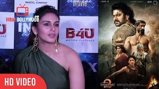 Huma Qureshi Reaction On Baahubali 2 | Baahubali 2 1000 Crores Collection