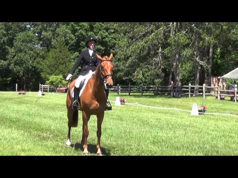 Paige Crotty & Cooley Dawn Raid at Groton House Farm Hourse Trials 2014