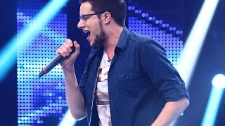 Tom Jones - I Who Have Nothing. Vezi interpretarea lui Alexandru Bucur, la X Factor!