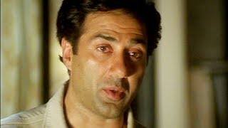 Sunny Deol promises Abbas to protect him - Champion Movie - Emotional Scene