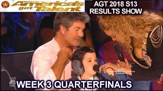 Simon Gets Hollywood Star &Eric Cowell Is Biggest Star QUARTERFINALS 3 America
