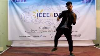 Dance performance by mahadi On IEEE DAY 2016