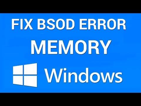 memory_management blue screen windows 10