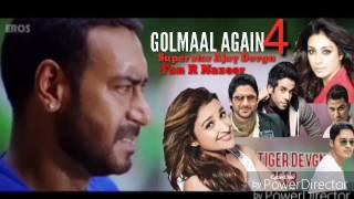 Golmaal 4 train action super star Ajay Devgn fan R Nazeer bangalore