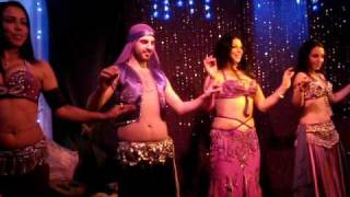 ATTAR - Sydney Professional Belly dance troupe. (Jamil Male Belly Dancer)