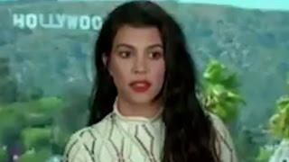 Kourtney Kardashian Freezes When Asked About Kim - Gives KUWTK Update