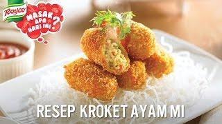 Resep Kroket Ayam Mi