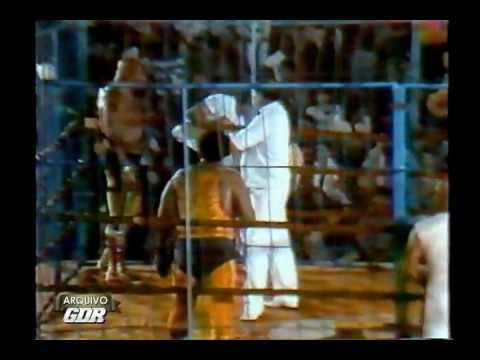 Arquivo GDR 20 Luta na Jaula Aquiles vs. Michel Serdan TV Record 1988