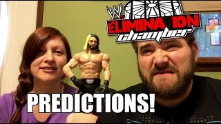 Grim's WWE ELIMINATION CHAMBER PPV PREDICTIONS! Full Card Matches Analysis