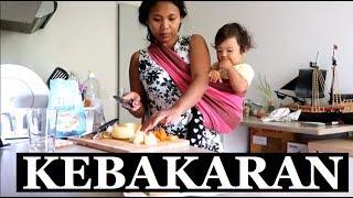 VLOG || MASAK SAYUR SOP || KEBAKARAN
