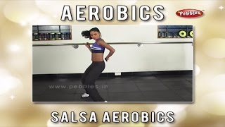 Salsa Aerobics For Women    Aerobics For Women at Home   Aerobics Exercise Step By Step Beginners