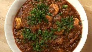 Kadai Prawns (Shrimp Recipe)