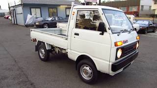 Daihatsu HIJET truck 1985 AWD low mileage,  S66-142439