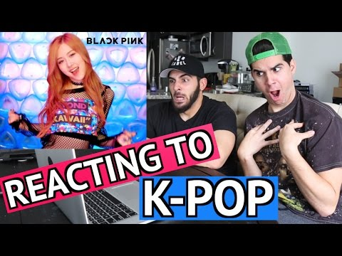 REACTING TO K-POP! (BLACK PINK)
