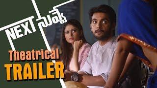 Next Nuvve Latest Theatrical Trailer || Aadi, Vaibhavi, Rashmi, Brahmaji, Prabhakar