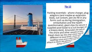 30 Tips for First Time Cruisers - Marella Explorer, Discovery, Discovery 2, Celebration and Dream