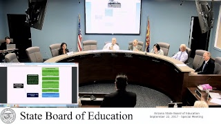 Arizona State Board of Education - September 22 - Special Meeting
