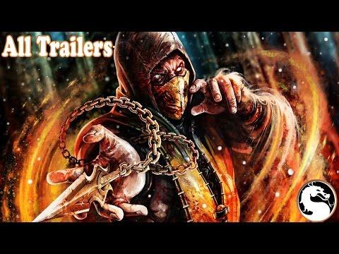 Xxx Mp4 All Mortal Kombat Trailers 1992 To 2015 3gp Sex