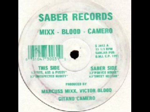 Mixx - Blood - Camero - Tits, Ass & Pussy - Saber 1991