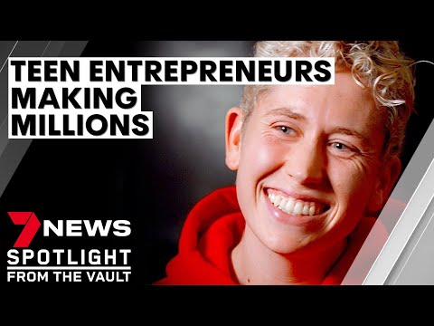 Teen Millionaires The kids running successful businesses who say you can too Sunday Night