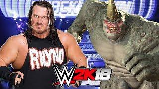 WWE 2K18   RHINO vs RHYNO