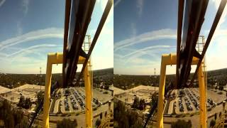 Montu HD 3D, Busch Gardens, Tampa Bay, Florida 2011