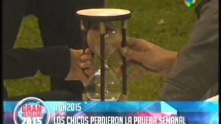 Marian y Matias perdieron la prueba semanal del Reloj   Gran Hermano 2015