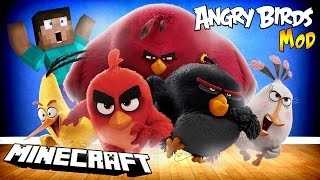 ANGRY BIRDS W MINECRAFT!
