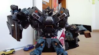 Transformers stop-motion : Ironhide