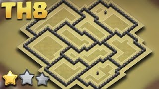 Download Town Hall 8 (TH8) THE BEST WAR BASE Anti-3 Star (AnTi Gowipe/Dragon/Goho) + Replays All Combo 3Gp Mp4