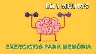 Exercícios incríveis para melhorar a memória em 3 minutos - Aprendizagem Mestre