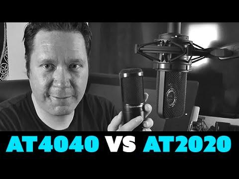 AudioTechnica AT4040 VS AT2020