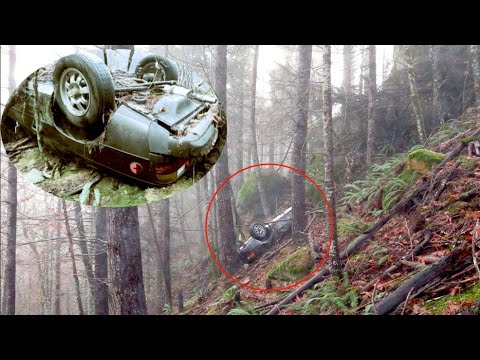 This Porsche Was Found 26 Years After It Was Stolen Then Police Saw Bones On The Ground Nearby
