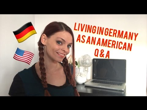 LIVING IN GERMANY AS AN AMERICAN!